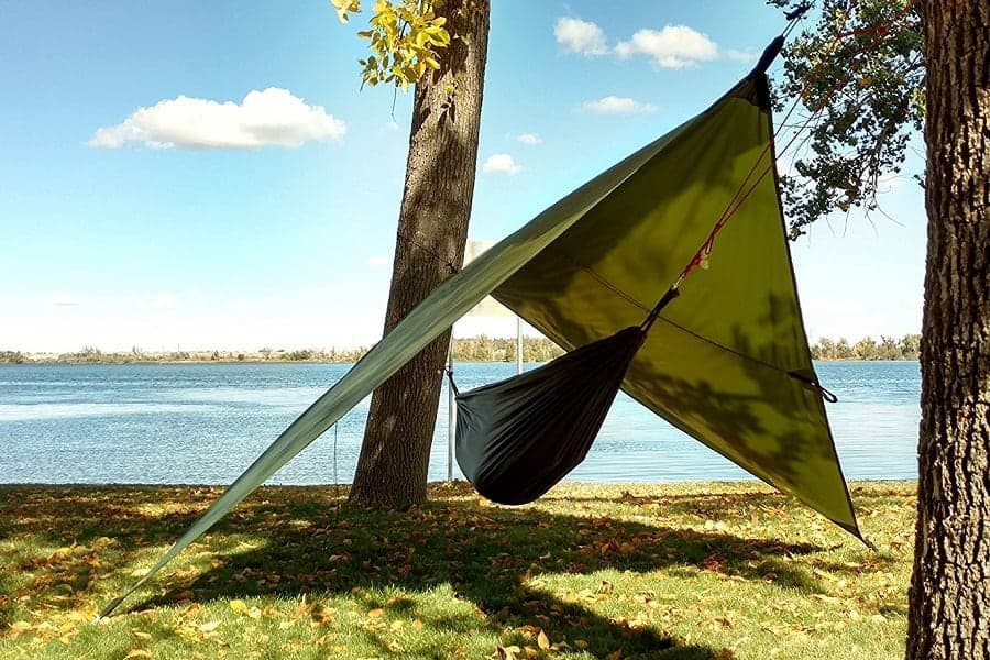 Hammock Tarp: How to Use It