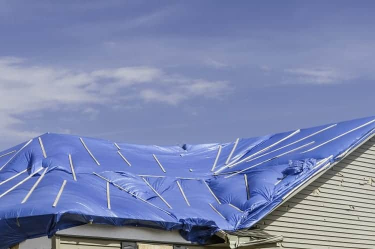 Standard Hurricane Tarp Materials