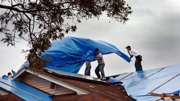 What Exactly Are Hurricane Tarps?