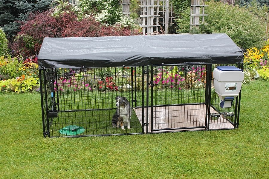 How to Make a Dog Kennel From a Tarp