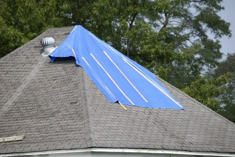 How Much Does Tarp Roofing Cost?